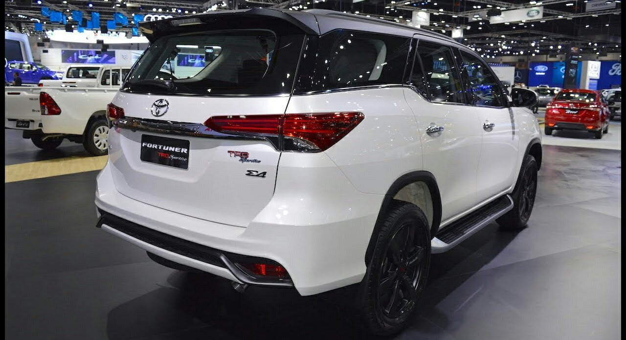 new toyota fortuner trd sportivo