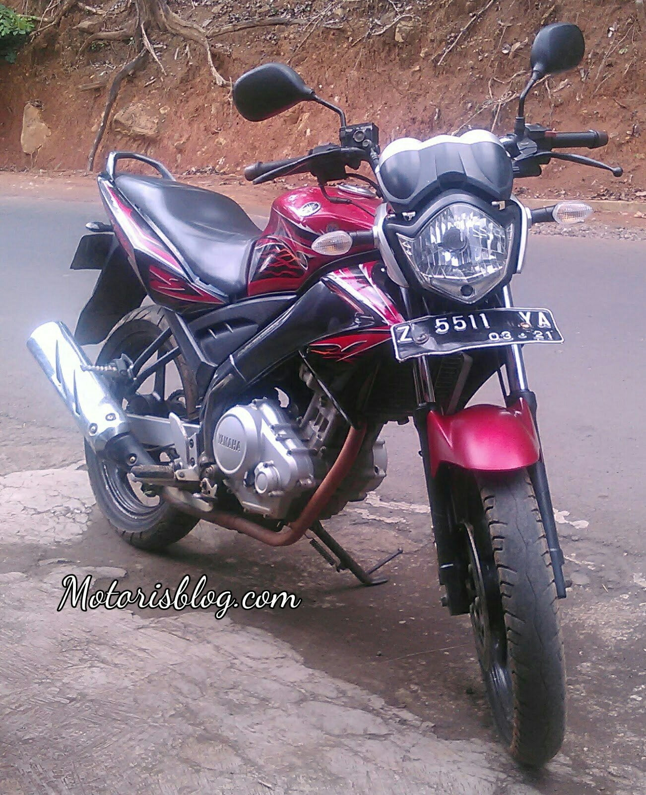 yamaha vixion old facelift headlamp