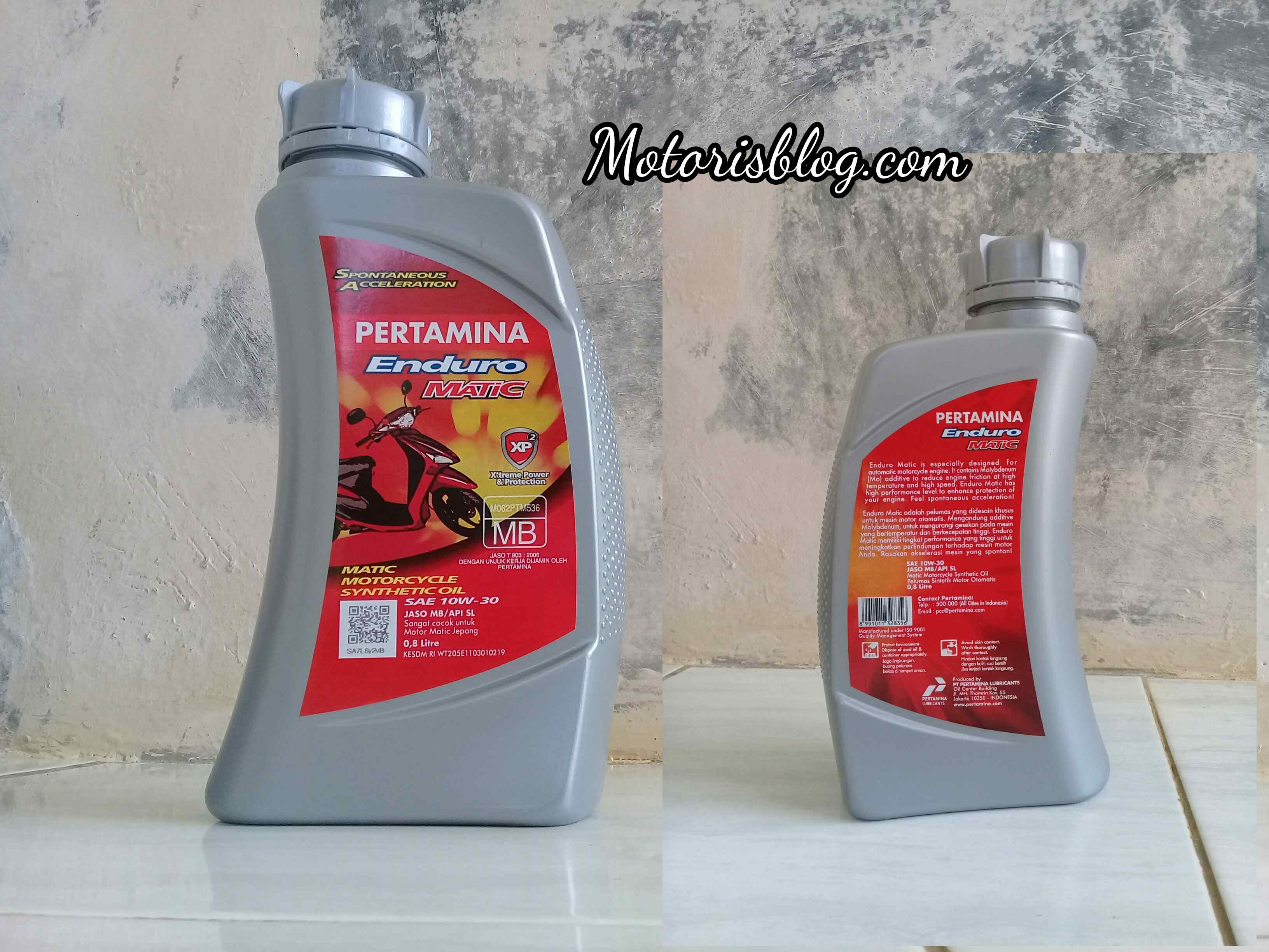 Pertamina Enduro Matic